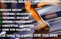 TREADMILL RELOCATION AND SERVICING - LONDON AND SURROUNDING AREA