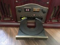 Retro record player/cd player/cassette player/radio