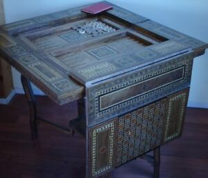 Game Table, Cards Table, Poker table, Chess Table, backgammon