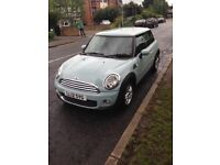 Mini One Hatch with Pepper Pack - Ice Blue 2012