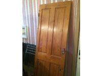 Three Mahogany Doors