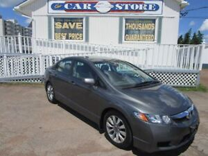 2011 Honda Civic EX-L HEATHED LEATHER SUNROOF ALLOYS