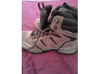 Ladies size 5 1/2 Berghaus walking boots, almost new