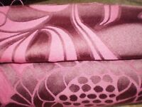 Good quality fabric (upholstery or suitable for curtains) New