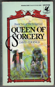 David Eddings-Queen of Sorcery Book 2 of Belgariad paperback +
