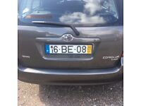 LHD - LEFT HAND DRIVE - PORTUGAL PORTUGUESE - 2006 TOYOTA COROLLA ESTATE 1.4 DIESEL
