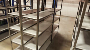 Shelves, shelving for sale, business relocating