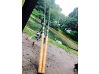2x Wychwood 12k reels