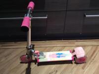 Girls light up scooter