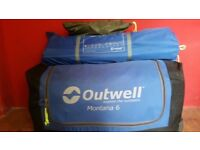 Outwell 6 person tent