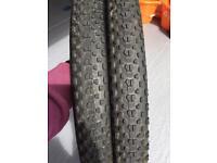 Mountain bike tyres 27.5