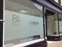 Full Time Dental Nurse/Practice Manager Required at Burgess & Hyder Berwick