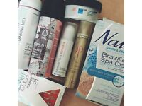 BEAUTY HAIR SKIN BIRCHBOX HAUL RRP 100