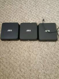 M8 android boxes