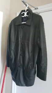 Leather jacket means Sm