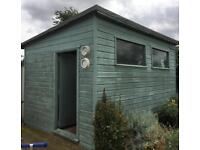 Large garden shed 4.3 X 3 meters