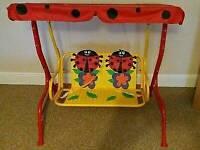 Double Ladybird Swing Seat
