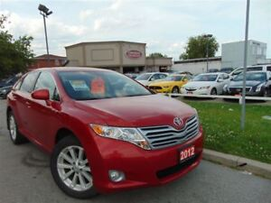 2012 Toyota Venza 4CYL- NO ACCIDENT-DUAL DVD