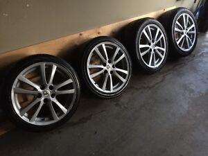 "Lexus IS350 18"" Wheels and Tires"