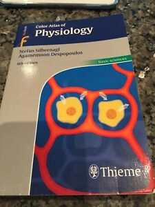 Color Atlas of Physiology  6th edition. Silbernagl NEW
