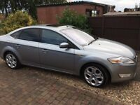 Silver Ford Mondeo 2.2 TDCi Titanium X Sport 5dr / Fully loaded spec / 125k miles with FSH