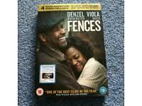 Brand new Fences DVD