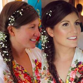 Professional Makeup Artist and Hair Stylist Weddings Bridal Prom Event Hen Do Birthday Photoshoot