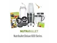 Deluxe blender special edition by NutriBullet 600 series. Still boxed, not even opened