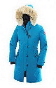 Canada Goose Women Kensington Parka Blue