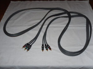 cables - UltraLink - Monoprice - component - composite - S-Video