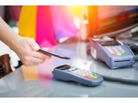 Credit card machine with merchant account from only £1.99 per week with rates as low as 0.23%