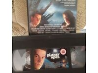 VHS TAPE 2001 - PLANET OF THE APES