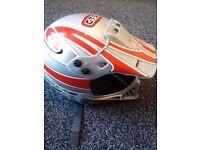 motorbike helmet tecnoplast size large 60