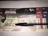 MotoGP Silverstone ticket