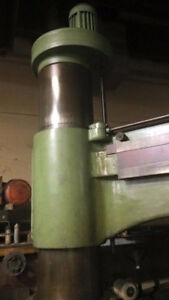 Radial arm drill number 6