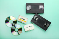 VHS and Negatives to DVD