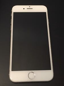 Iphone 6 silver Bell / Virgin mobile
