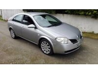 2005 Nissan Primera Dci 5dr-Diesel-Passed-Full 1 Years MOT 2018 Next Year--a4,320d,avensis,passat