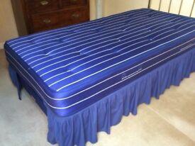 Two Single Beds + quality Brassy headboards
