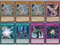 45 Cards Blue-Eyes White Dragon Deck| Kaiba's AUTHENTIC* ULTIMATE Dragon/ Battle City Deck Yu-Gi-Oh!