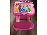 Disney Princess All-in-One Desk and Chair for Sale