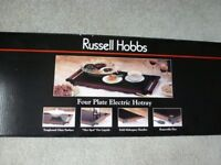 Electric Hotplate (up to 4 plates)