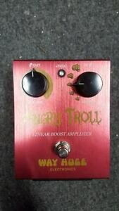 Way Huge Electronics Angry Troll Linear Boost Guitar Pedal