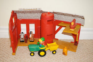 John Deer Farm and Tracter Set