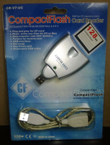 Compact Flash Card Reader Brand NEW