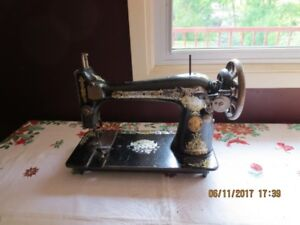 Old Singer Treadle Sewing Machine