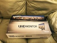 """Samsung Ultra HD LED Monitor 4K 24"""" with 15 Months Guarantee"""