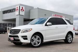 2014 Mercedes-Benz M-Class ML350 BlueTec Turbo-Diesel 4Matic
