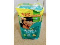 Giga pack of Pampers nappies