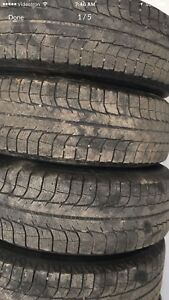 235/70 R16, 4 MICHELIN winter tires with rims